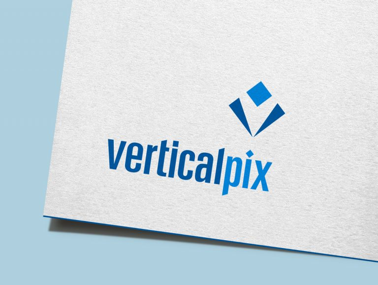 Kreas grafica verticalpix logo