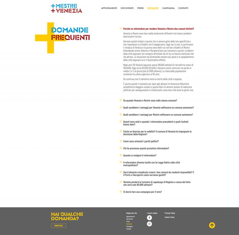 Kreas website piumestrepiuvenezia org domande frequenti (1)