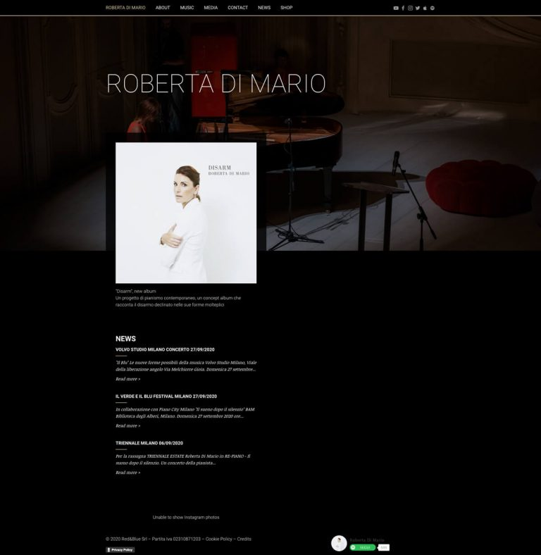 Kreas website robertadimario mac