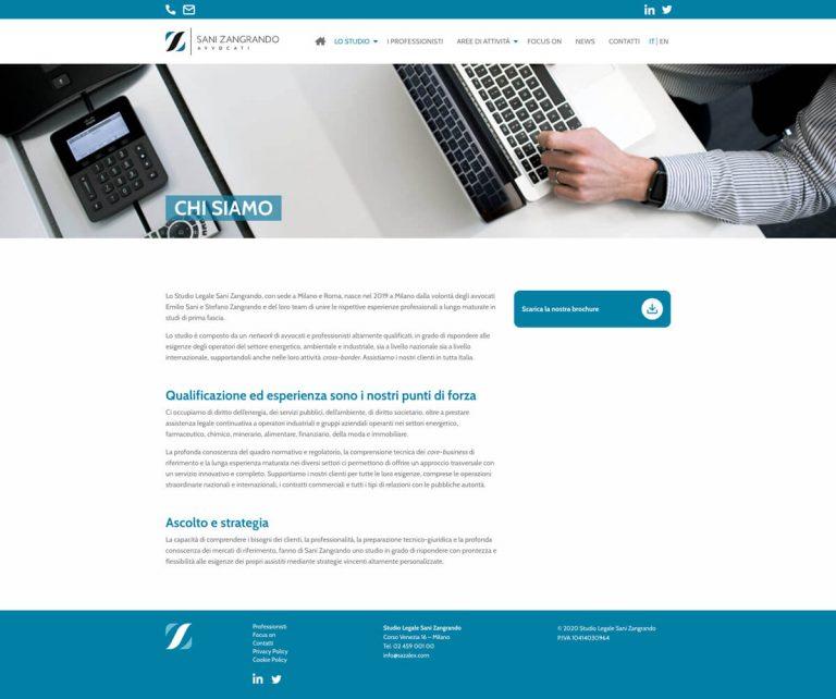 Kreas website sazalex chisiamo