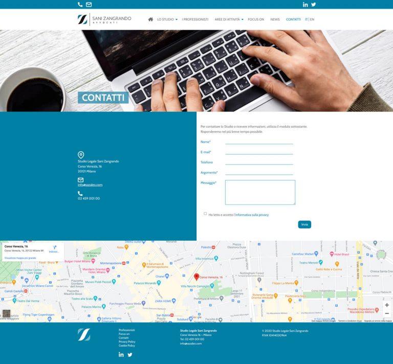 Kreas website sazalex contatti