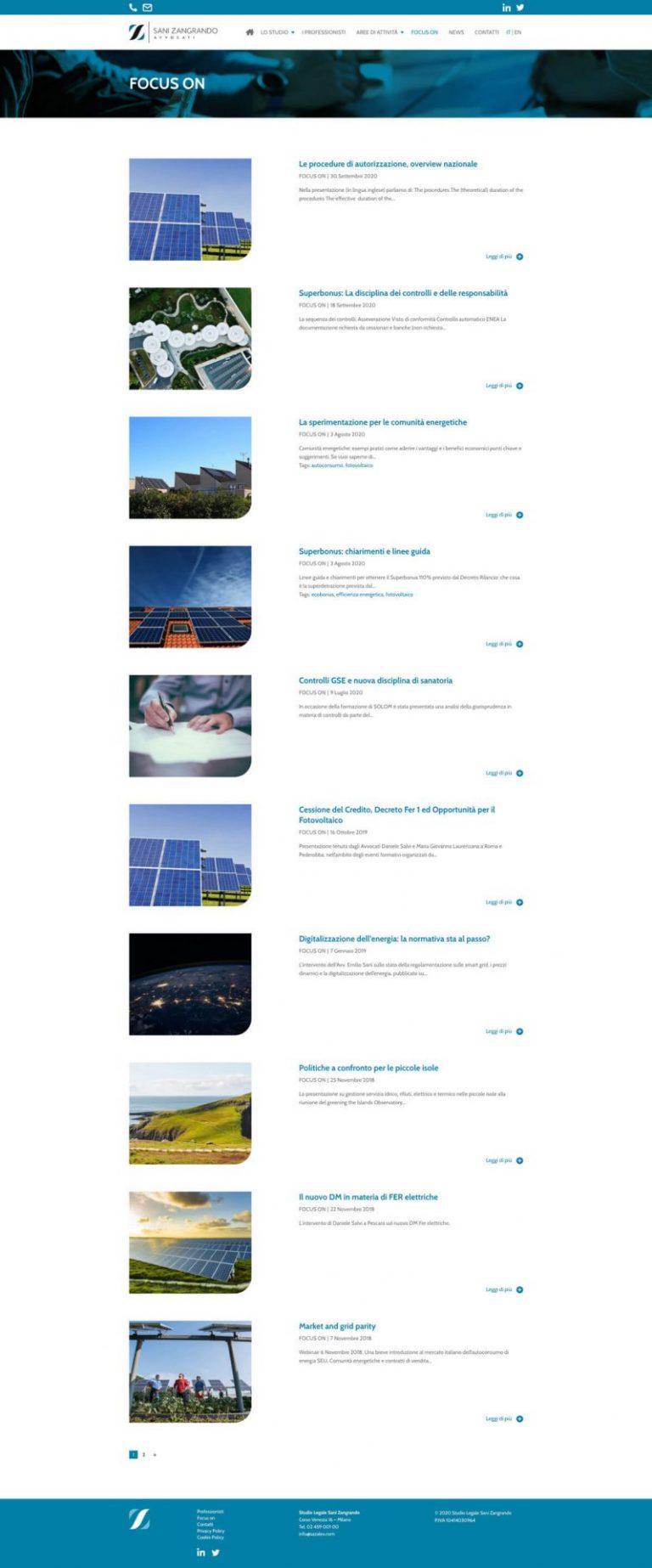 Kreas website sazalex focuson