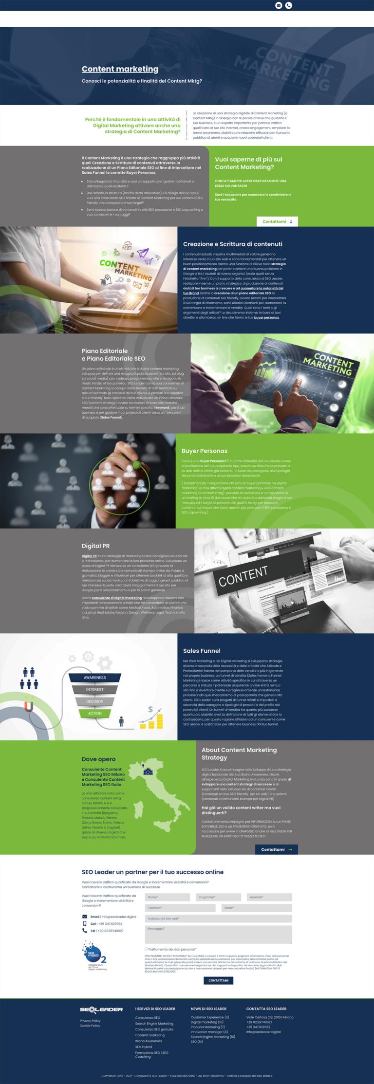 Seoleader digital content marketing